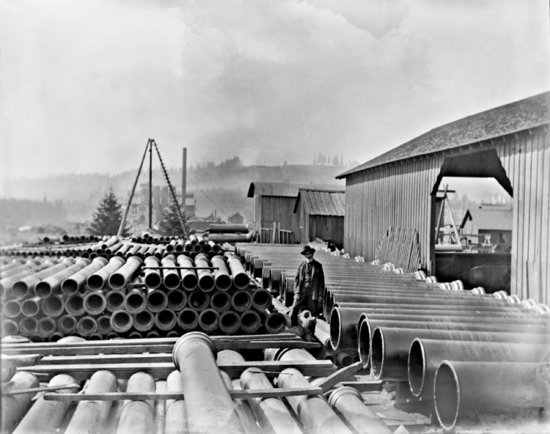 #669, Pipe Foundry, Yard and Pipe