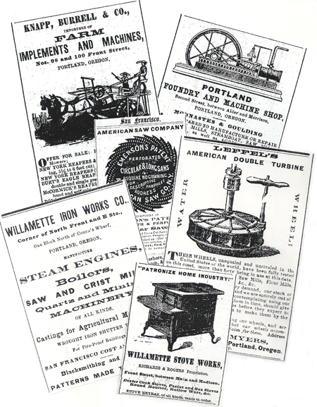 Iron products ads
