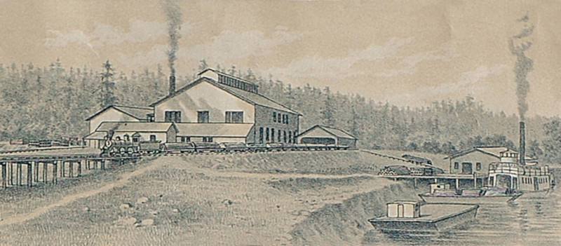 Pipe Works litho