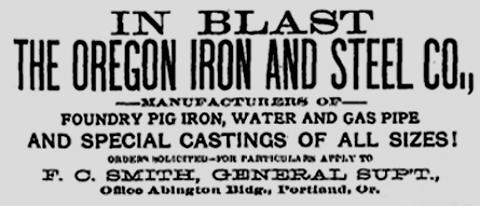 1880s – The Oregon Iron Chronicles
